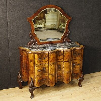 Dresser mirror furniture chest of drawers armoire cabinet antique style 900 XX