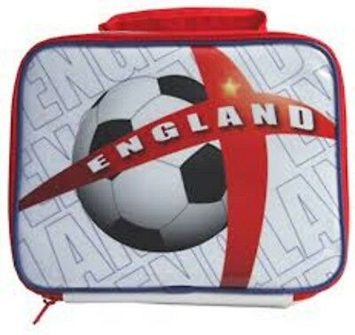VOGUE International ENGLAND Football White Insulated School Travel Lunch Bag