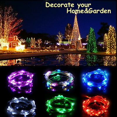5M LED Christmas Wedding Party Decor Outdoor Fairy String Light Lamp RY
