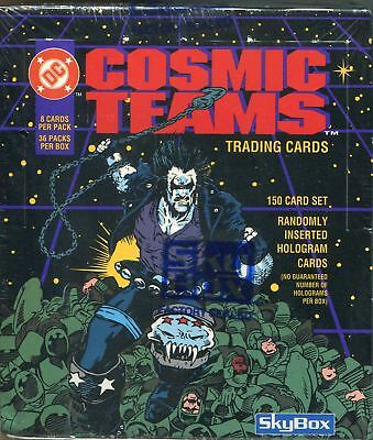 DC Cosmic Teams Factory Sealed Hobby Box 36 Packs