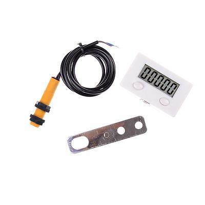 LCD Digital 0-99999 Counter 5 Digit Plus UP Gauge + Proximity Switch Sensor DSUK