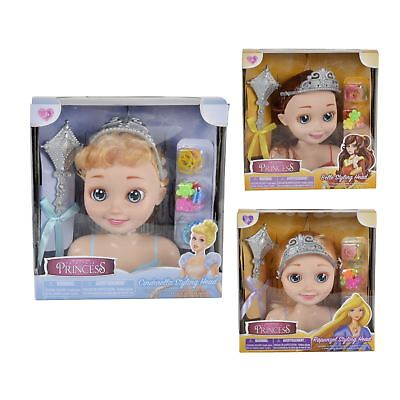 "Toon Studio Fairytale Princess 7"" Hair Styling Head Doll With Accessories Age 3+"