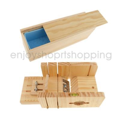 Adjustable Wood Loaf Soap Cutter for Soap Cutting Trimming+Silicone Mold Set