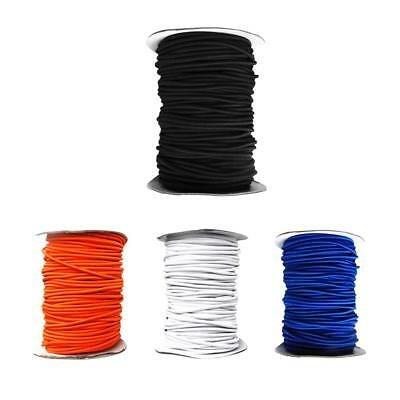 4mm x 1/3/5/10 Meters Elastic Bungee Rope Shock Cord - Heavy Duty Kayak Tie Down