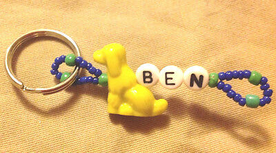 Boys Or Men's Personalized Keychain Or Zipper Pull With The Name Ben-New