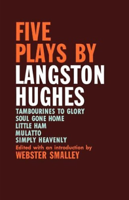 Smalley-Five Plays By Langston Hughes  (UK IMPORT)  BOOK NEW