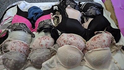 job lot bundle 21 items of bras etc with flaws