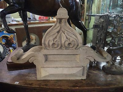 Vintage Wood Industrial Country Primitive Architectural Salvage Small Corbel