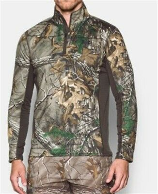 fcd54a78235775 MEN'S UNDER ARMOUR Scent Control Extreme Base 1/4 Zip Top 1259135 ...