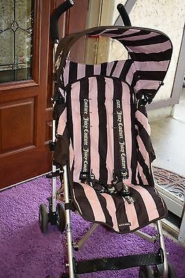 Stroller Maclaren Juicy Couture Stroller Authentic Limited Edition