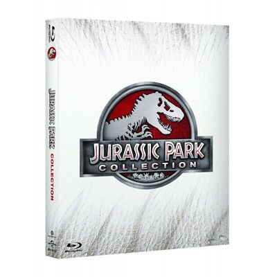 JURASSIC PARK COLLECTION  cofanetto 4 BLURAY nuovo collezione blu-ray Collection