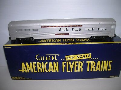 American Flyer / Lionel # 6-48977 PRR Dining Car new boxed lot # 11857