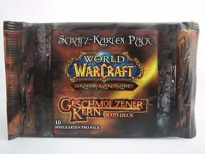 "World of Warcraft ""Schatz-Karten Pack/Booster"" Geschmolzener Kern -Deutsch- RAR!"