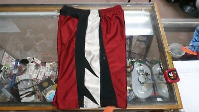 NIKE YOUTH basketball shorts size XL(18-20) red polyester #14177