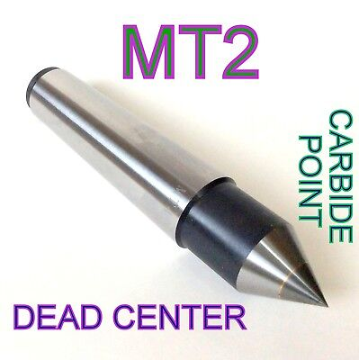 1 pc Lathe MT2 Carbide Dead Center  MORSE TAPER #2 /2MT Center sct-888