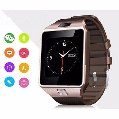 hot bluetooth smart watch dz09 armbanduhr sim mit kamera f r android handy neu eur 11 49. Black Bedroom Furniture Sets. Home Design Ideas
