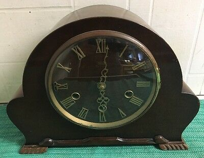 Lovely Vintage Smith Enfield Westminster Chime Mantel Clock