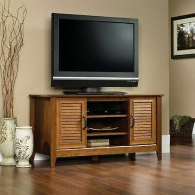 Cherry Wooden TV Stand Entertainment Center Media Storage Audio Console 47 inch