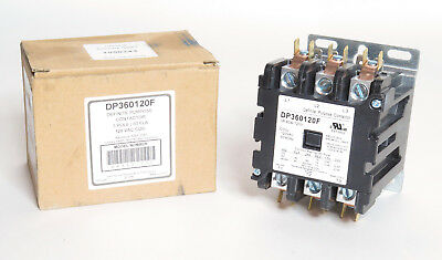 60A Definite Purpose Contactor, 3-Pole 120V Coil,opn, Replaces Siemens 42Ef35Af