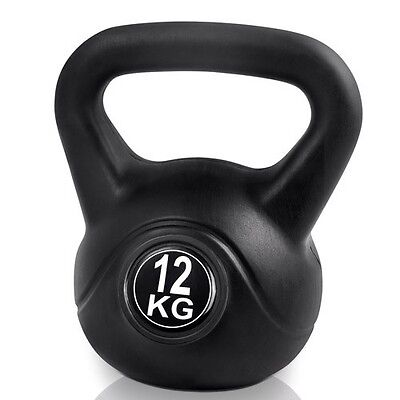 12kg Everfit Kettlebell Training Weight Dumbell for Home Fitness Gym Exercise