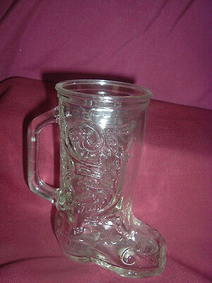 Avon Vintage 24% Lead Crystal Boot Vase