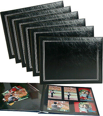 6 x Lifetime Memories UR1 NCL Jumbo Self-Adhesive Photo Albums Black 62775