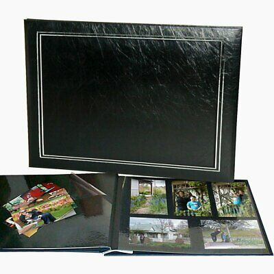 Lifetime Memories UR1 NCL Jumbo Photo Album Black 62775