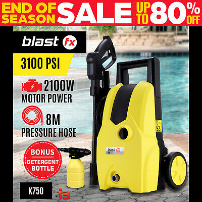 NEW BLASTFX 3100PSI High Pressure Water Washer Cleaner Electric Gurney Pump Hose