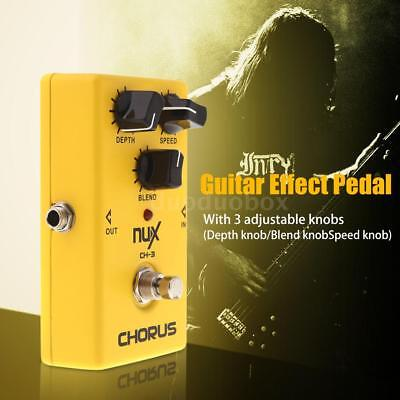 NUX CH-3 Chorus Guitar Effects Pedal True Bypass YELLOW+Free AU Deliver