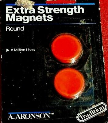Aronson Extra Strength Magnets Red Stars Perfect for Teachers 2pk