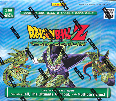 Dragon Ball Z Perfection Booster Box Trading Card Game Full Booster Box Panini