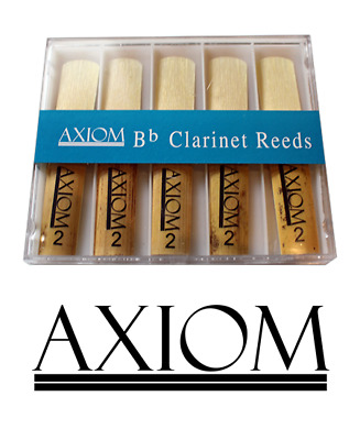 Axiom Clarinet Reed 2.0 - Box of Ten Quality Clarinet Reeds