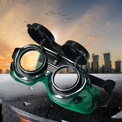 Pop Welding Safety Glasses Work Protective Spectacle Goggles Flip-Up Len Eyewear