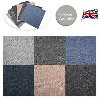 UK 2017 New Carpet Tiles Home Shop Office Reception Industrial 20 tiles