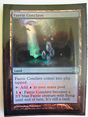 Magic The Gathering MTG FAERIE CONCLAVE Promo Card x1 FOIL - Near Mint