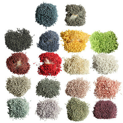 1400pcs Mixed Colors Pearl Double Headed Floral Stamens Craft Party Decoration