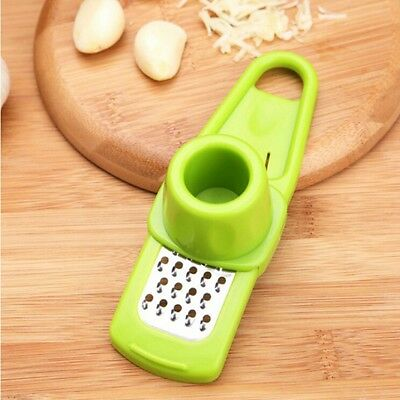 Multifunctional Ginger Garlic Grinding Grater Mini Planer Slicer, Random Color