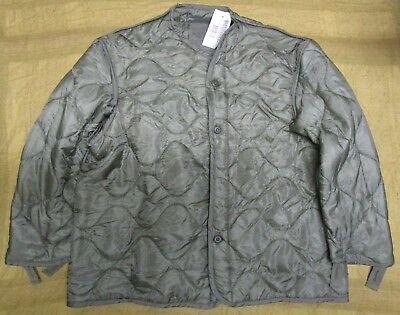 New Genuine Us M65 Field Jacket/rainsuit Parka Quilted Liner. Foliage. Large.