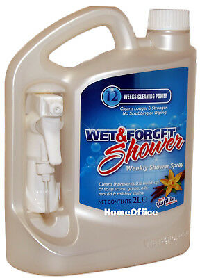 Wet And Forget Shower Cleaner - No Scrubbing & Wiping - 3 Months Cleaning Power