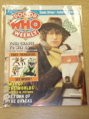 Doctor Who #2 1979 Oct 24 British Weekly Monthly Magazine Dr Who Dalek With Gift