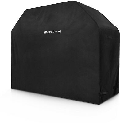 Barbecue Covers, SHINE HAI 600D Heavy Duty Gas Waterproof BBQ Grill Cover For