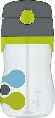 THERMOS FOOGO 11-Ounce Straw Bottle, Tripoli Pattern