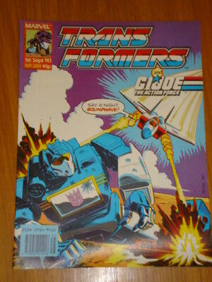 Transformers British Weekly #285 Marvel Uk Comic 1990
