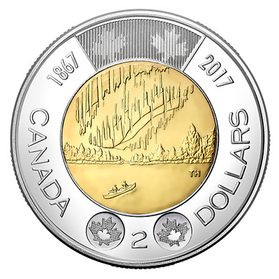 DANCE OF THE SPIRITS - 2017 $2 Toonie  Brilliant Uncirculated Coin