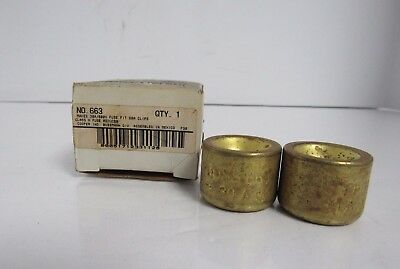 Buss 663 30A/600V Fuse Fit 60A Clips Class H Fuse Reducer