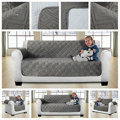Sofa Protector Throws Slip Covers Dog Cat Pet Water Resistance 1,2,3 Seater