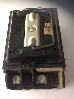 Federal Pacific 60 amp Fuse Holder Pull Out with Block - MAIN