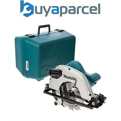 "Makita 5704RK 110v Circular Saw 190mm 7"" 1200w Includes Blade + Case"
