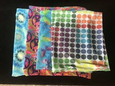 Stretchy Book Covers- Colorful (Lot Of 4)