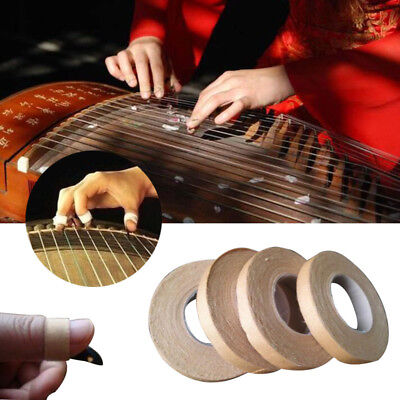1cmX5m Ventilated Adhesive Tape Chinese Zither GuZheng Pipa Finger Picks Wood